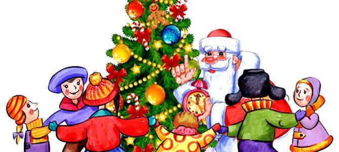 Во что поиграть с детьми под новогодней елкой?