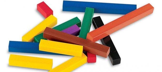 Цветные палочки Кюизинера!